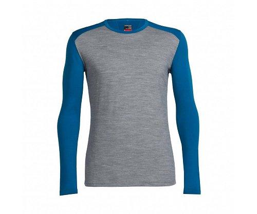 Stinken in een wandelshirt is verleden tijd met het Icebreaker Bodyfit 260 heren thermoshirt.