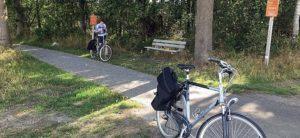 Fietsonderbroek voor fietstochten.