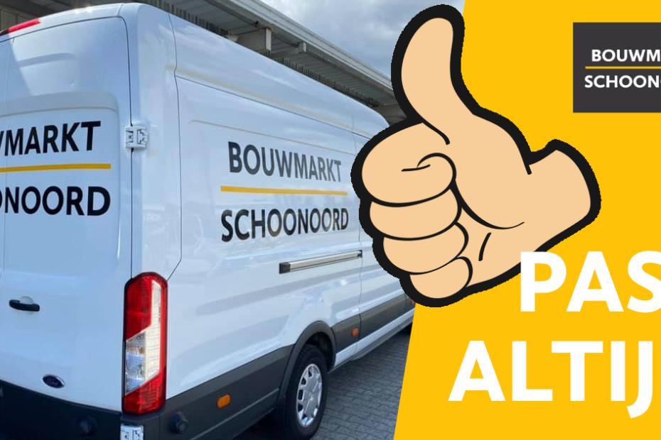 Tuinhout bezorgen in Drenthe door Bouwmarkt Schoonoord.